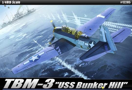 Grumman TBM-3 Avenger USS Bunker Hill
