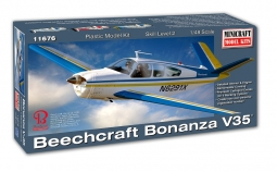 Beechcraft Bonanza V35 Balsa Kit: Aviation Models